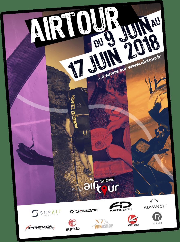 affiche Airtour 2018