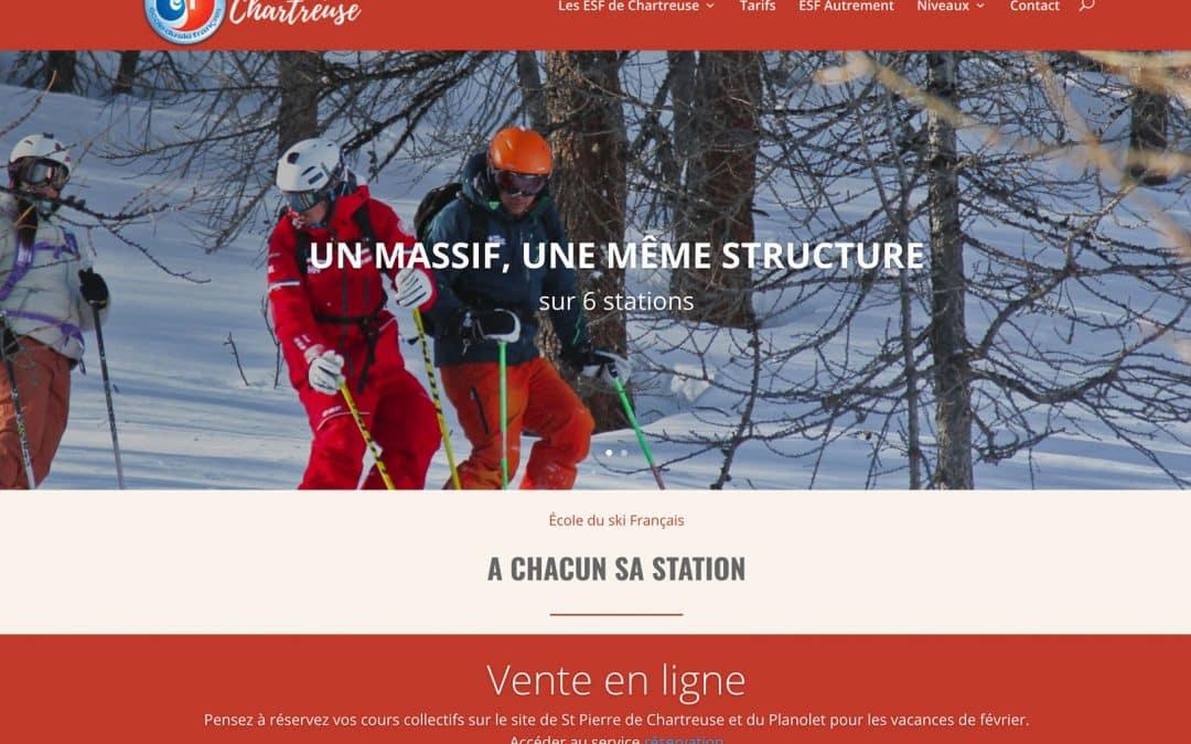 Les écoles de ski des ESF de Chartreuse